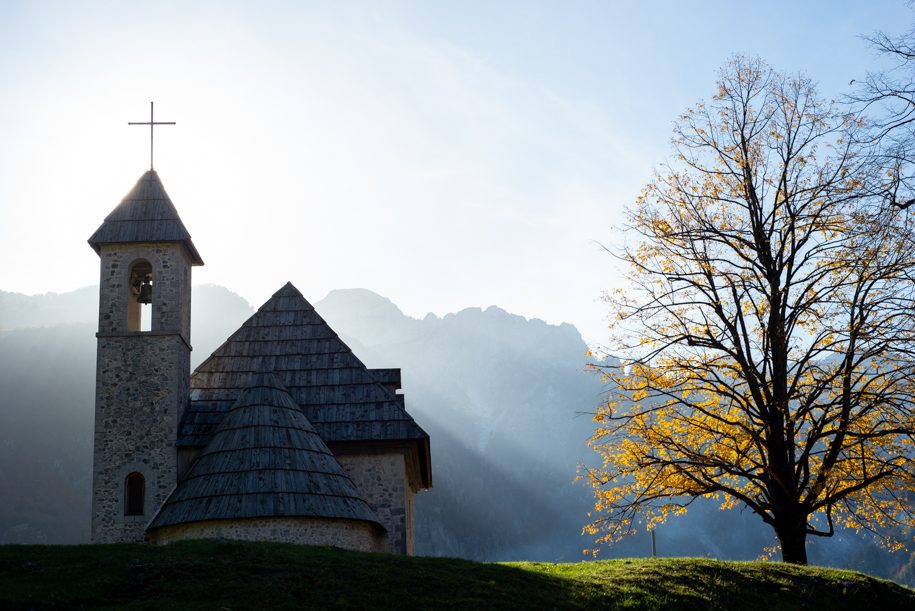 Little church in the valley of Theth.