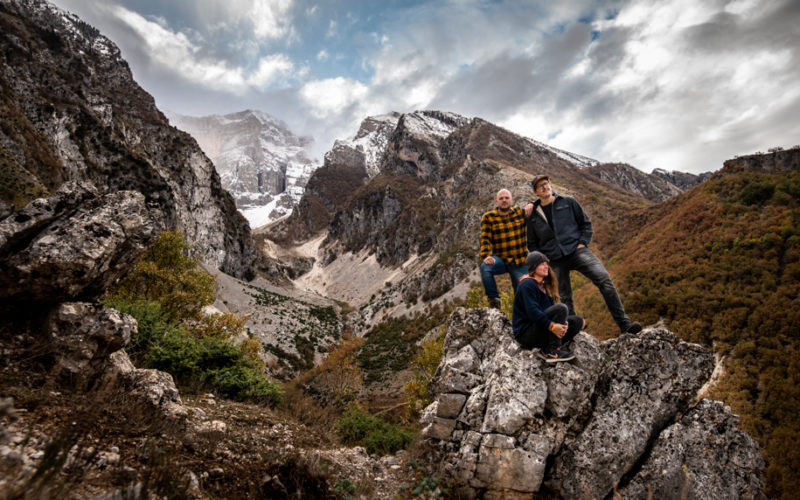 Hike in the mountains of Permet, Albania.