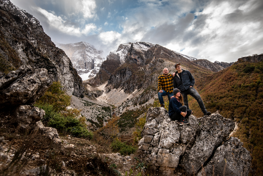 Hike in the mountains of Permet, Albania
