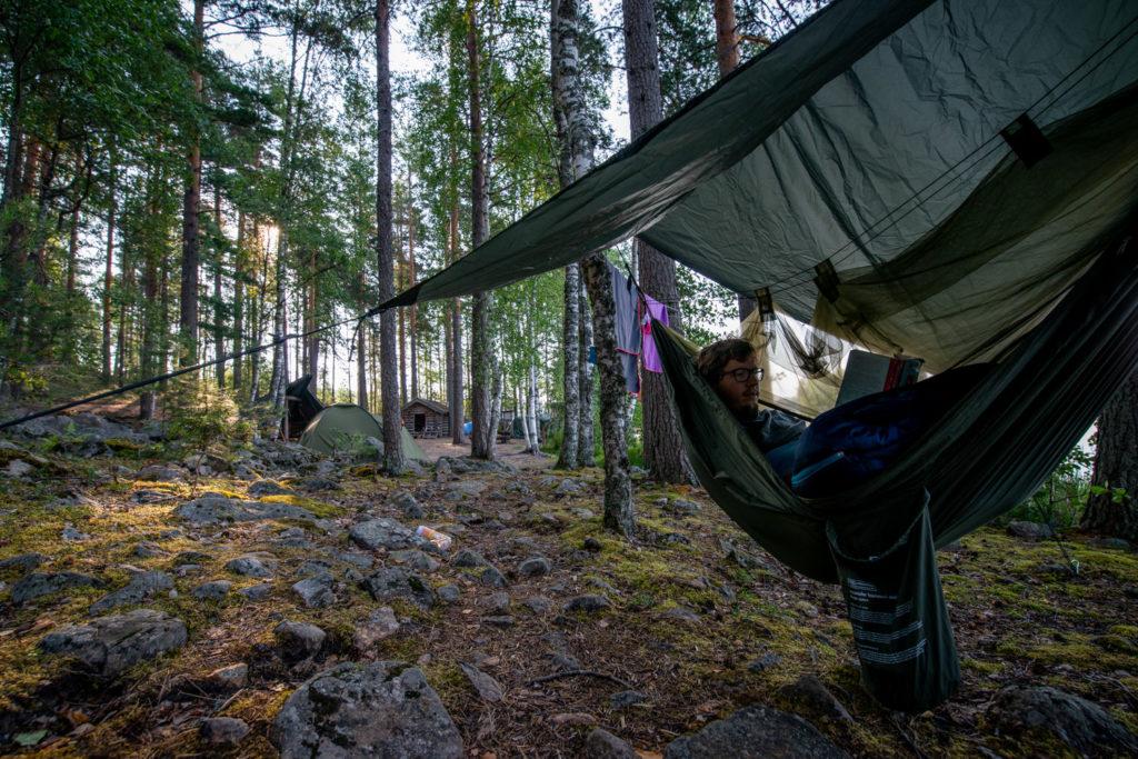 Wild Camping in Jyväskilä, Finland