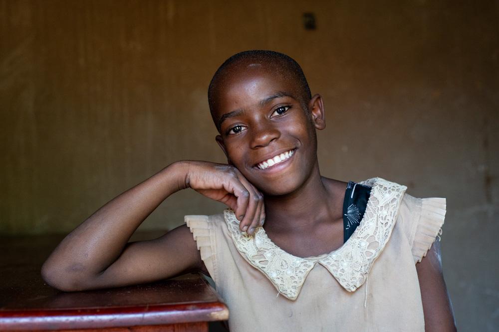 Portrait of Happy, from uganda